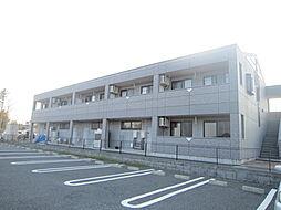 茨城県那珂市菅谷の賃貸アパートの外観