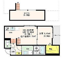 CasaViola栄生(カーサビオラサコウ)[2階]の間取り