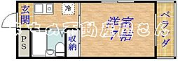 アクシオス野江ノース[5階]の間取り