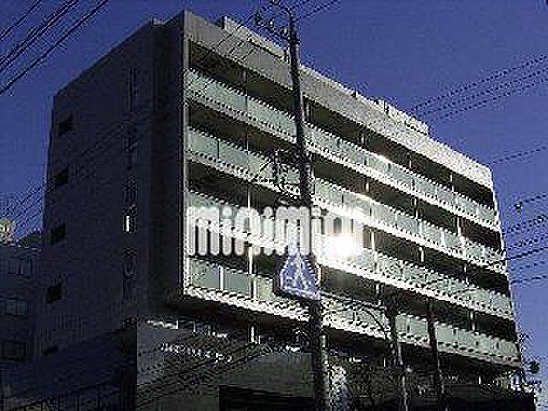 愛知県名古屋市熱田区三本松町の賃貸マンションの外観