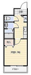 リバーサイド金岡五番館[3階]の間取り