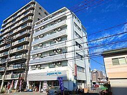 岡山県岡山市北区東古松2の賃貸マンションの外観