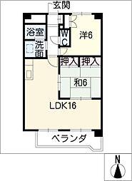 ユメックスー11[1階]の間取り