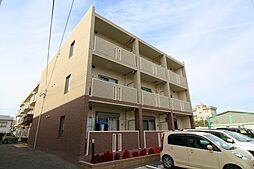 兵庫県明石市貴崎5丁目の賃貸マンションの外観