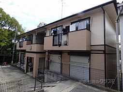 大阪府河内長野市小山田町の賃貸アパートの外観