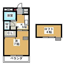 メゾン・ミヤマ[2階]の間取り