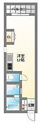 ライフデザイン江戸堀[3階]の間取り