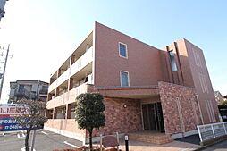 埼玉県新座市野寺4丁目の賃貸マンションの外観