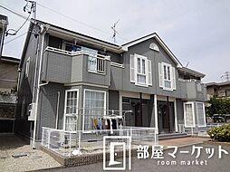 愛知県豊田市朝日ケ丘2丁目の賃貸アパートの外観