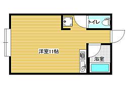 エステートヨシマン2[2階]の間取り