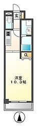 ドゥナーレ畑江通[2階]の間取り
