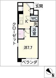 エスペランサ鳴海[3階]の間取り