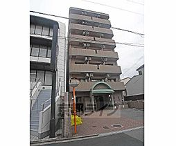 京都府京都市上京区一条通千本東入伊勢殿構町の賃貸マンションの外観