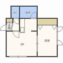 第8松井ビル[2階]の間取り