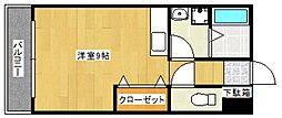 オリーヴァ花畑[2階]の間取り