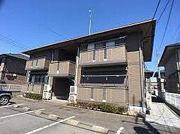 栃木県小山市若木町2丁目の賃貸アパートの外観