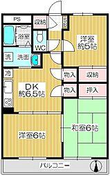 ハウス・豊[1-B号室]の間取り