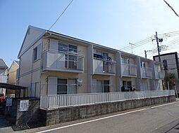 埼玉県坂戸市本町の賃貸アパートの外観