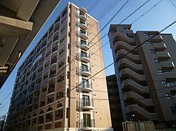 ラグゼ田辺[10階]の外観