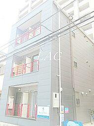 東京都江戸川区平井5丁目の賃貸アパートの外観
