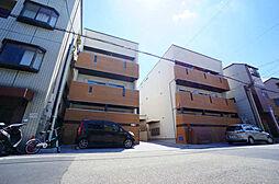 大阪府大阪市西淀川区竹島3丁目の賃貸アパートの外観