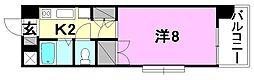 メゾン中村3[501 号室号室]の間取り