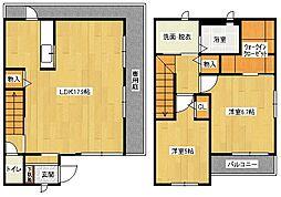 Bell Court[1階]の間取り