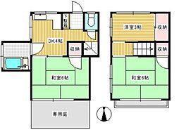 [テラスハウス] 東京都杉並区永福1丁目 の賃貸【/】の間取り