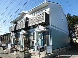 愛知県あま市甚目寺松山の賃貸アパートの外観