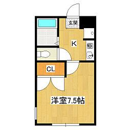 CHEZ-NOUS[2階]の間取り