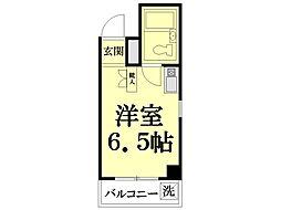 中野第2ビル[401号室]の間取り