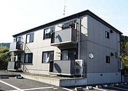 福島県いわき市平上荒川字桜町の賃貸アパートの外観