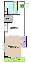 DRハウスII 306号[3階]の間取り