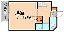ユンゲルハイム原田[3階]の間取り