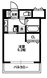 エステムコート新大阪VIエキスプレイス[9階]の間取り