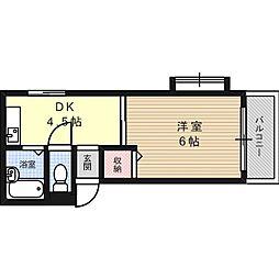 マンションフルネスPart-2[01B号室]の間取り