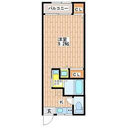 オーナーズマンション南巽[305号室]の間取り