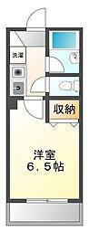 コンフォート甲子園[2階]の間取り
