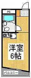 アーバンホーム日野台[3階]の間取り