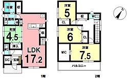 西尾駅 3,580万円