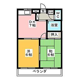 ストークハウスS[2階]の間取り