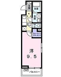 レジデンス東鴨宮[201号室]の間取り