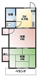 アートパレス東松山No.7[203号室]の間取り