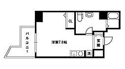 フレアコート新大阪[10階]の間取り