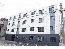 北海道札幌市豊平区平岸五条12丁目の賃貸アパートの外観