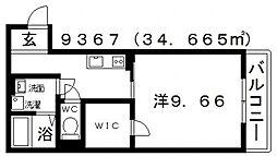 古市4丁目新築マンション[103号室号室]の間取り