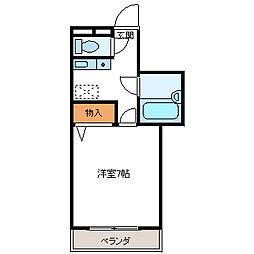 メゾンJUN[2階]の間取り