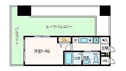 エスリード野田阪神駅前[12階]の間取り