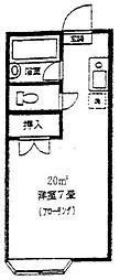 センターマンション笹塚[2階]の間取り