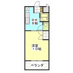 ウィンズ21[4階]の間取り